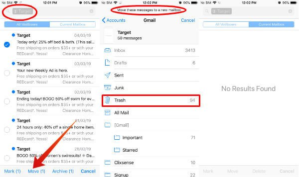 Here's How to Delete Multiple Emails on your iPhone or iPad