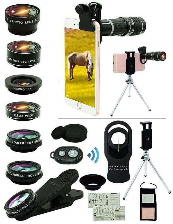 Bostionye iPhone Lens Kit
