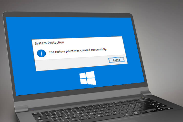 Create System Restore Point Windows 10