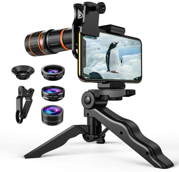 Criacr 4 in 1 Lens Kit for iPhone