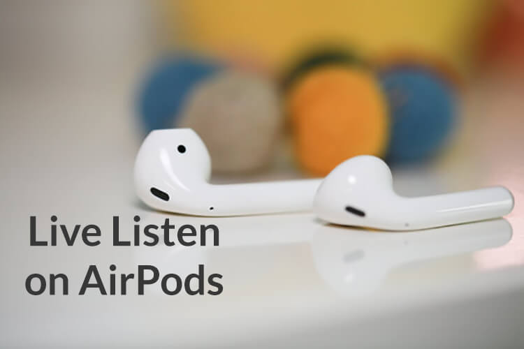AirPods wireless Bluetooth headphones