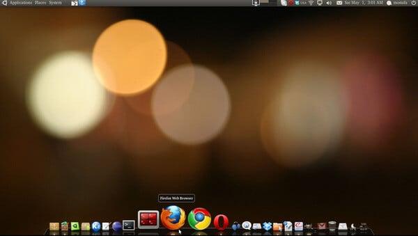 Docky macOS like Linux dock