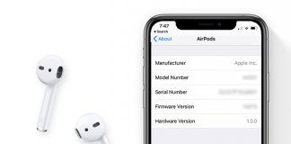 How to find AirPOds Version - Update AirPods Firmware
