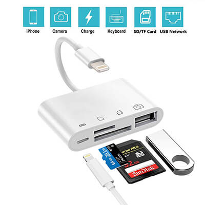 4-in-1 SD/TF Card Reader