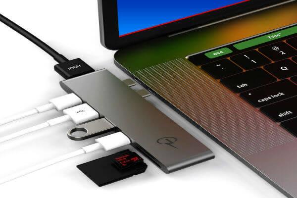 CharJenPro MacBar USB C Hub