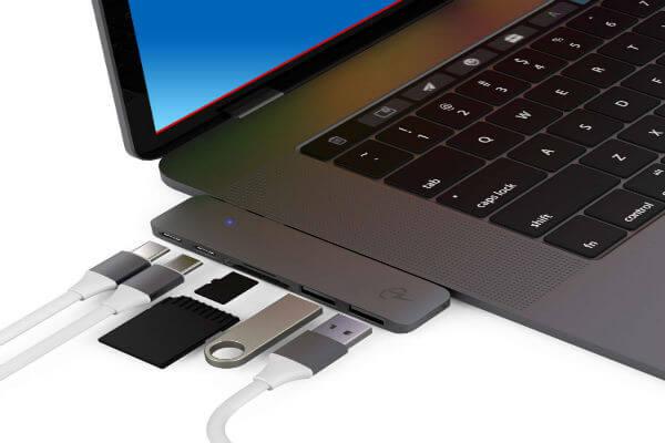 CharJenPro MacStick USB C Hub for MacBook Air 2019 2018 and MacBook Pro 2019 2016-2018