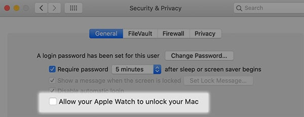Click to Enable Mac Auto Unlock