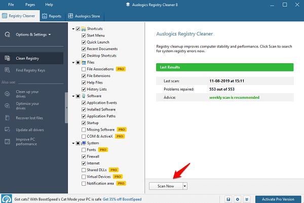 Delete Broken Registry Entries in Windows 10 1