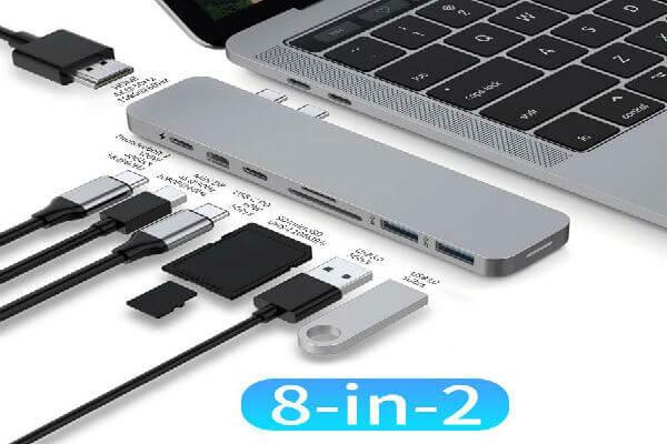 HyperDrive Mac USB C Hub