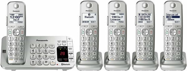 PANASONIC Link2Cell Bluetooth Cordless DECT 6
