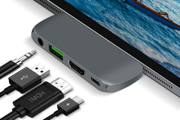 Sendcool USB C Hub Adapter iPad