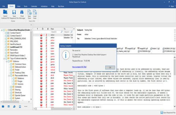 Stellar Outlook Repair File Download