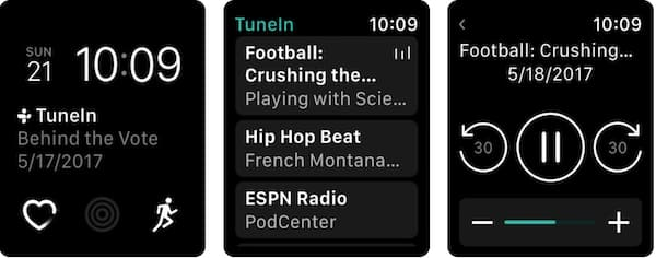 TuneIn Pro Apple Watch App