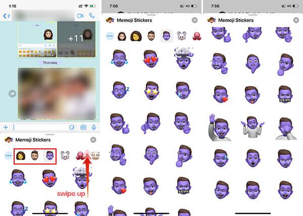 All 24 Memoji Stickers List on iOS 13