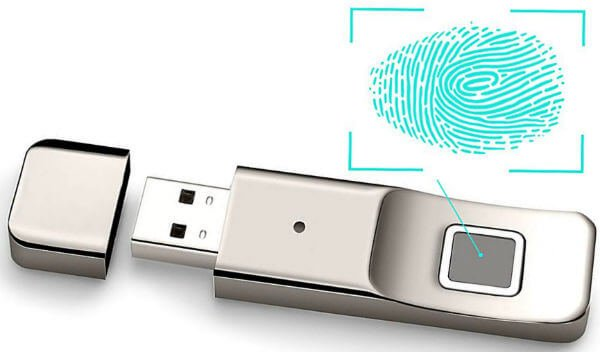 Aspoir Fingerprint Encryption USB