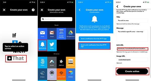 Create IFTTT Action to Auto turn off Wi-Fi on iPhone