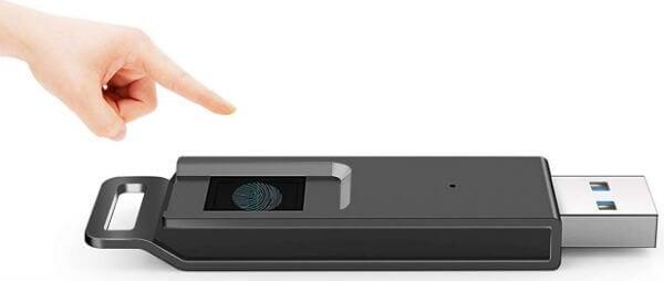 Encrypted Fingerprint Recognition Thumb Drive
