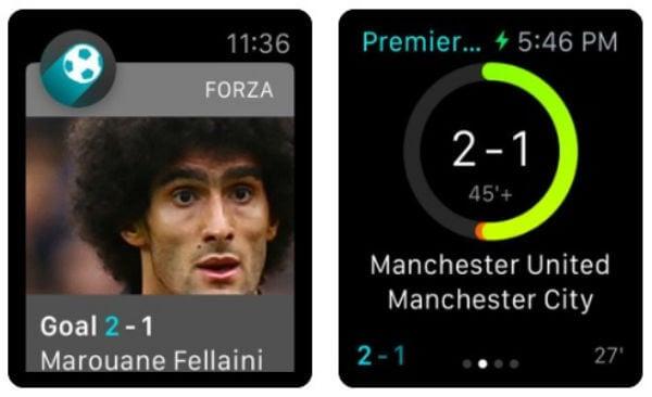Forza Football - Sports Score App for Apple Watch