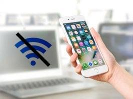 How to auto turn off wi-fi on iPhone when you away from home