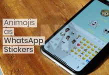 How to use Animojis and Memojis as WhatsApp Stickers -F
