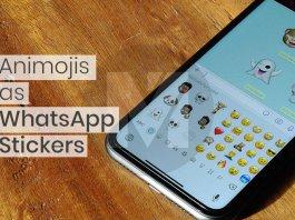 How to use Animojis and Memojis as WhatsApp Stickers -F