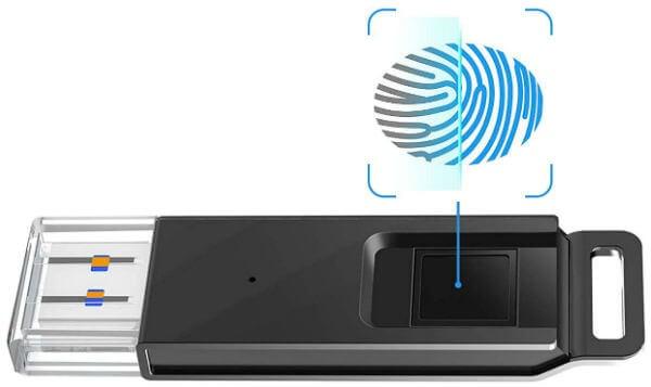 Kootion Fingerprint Encrypted Flash Drive