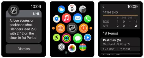 NHL - Sports Score App for Apple Watch