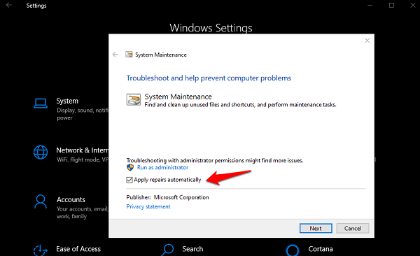 Solve Windows 10 Stops Responding Error 2