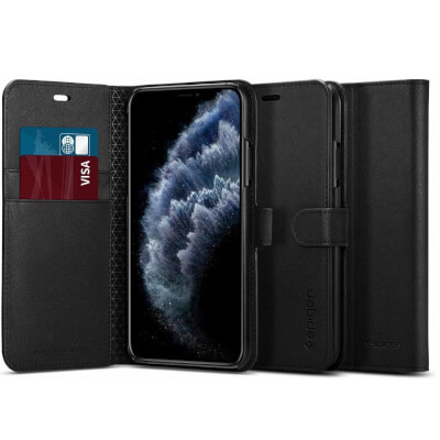 Spigen Wallet S Designed for Apple iPhone 11 Pro Case
