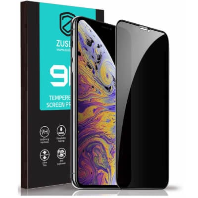 Zuslab iPhone 11 Pro Max Privacy Screen Protector