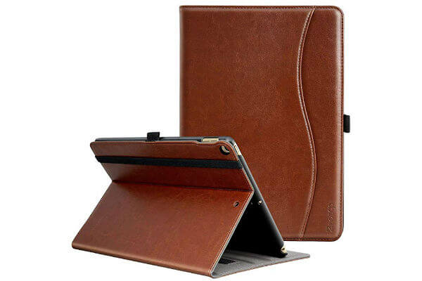 Ztotop Premium Leather Slim Folding iPad Cover
