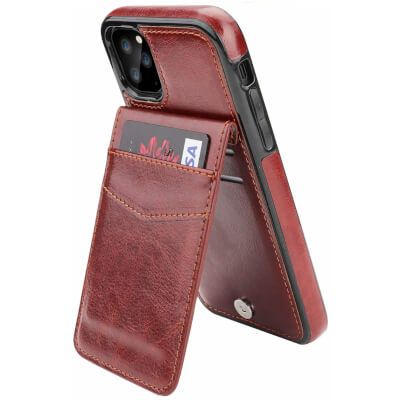 Kihuwey Premium Leather Wallet iPhone 11 pro Case