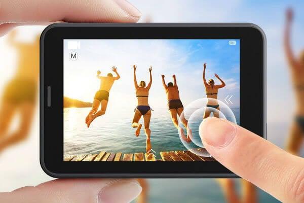 AKASO V50 Pro Touch Screen