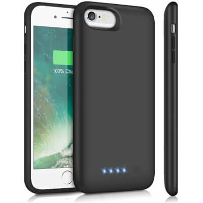 HETP 6000mAh Battery Case for iPhone 6S 6