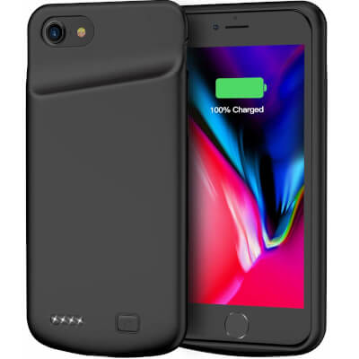 Battery Case for iPhone 7/8, 4500mAh Portable Rechargeable Protective Charging Case