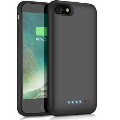 6000mAh Portable Rechargeable Charging Case for iPhone