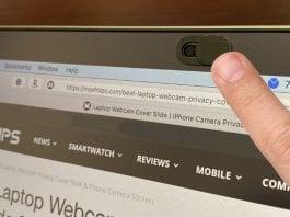 Laptop Webcam Privacy Cover Slide