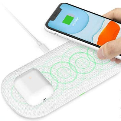 CHOETECH Dual Wireless ChargerCHOETECH Dual Wireless ChargerCHOETECH Dual Wireless Charger