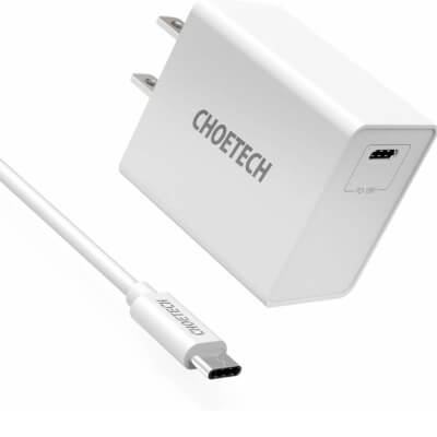 CHOETECH 18W USB C Charger