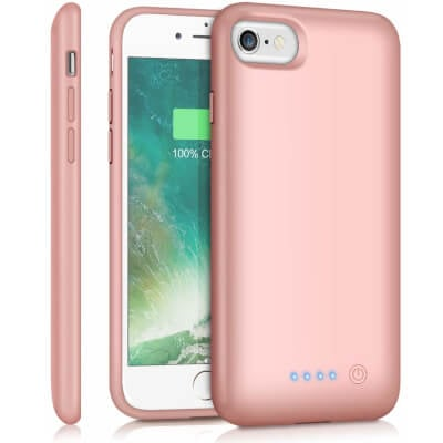Feob 6000mAh Battery Case for iPhone 8/7 /6s/6