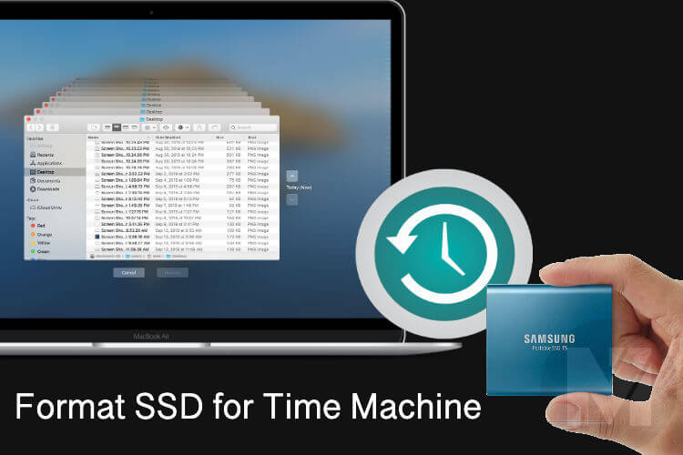 How to Format External SSD for Mac Time Machine