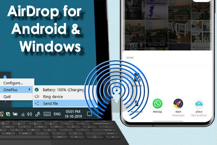 Get Airdrop for Android and Windows