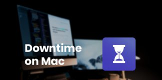 How to use Downtime on Mac using macOS Catalina