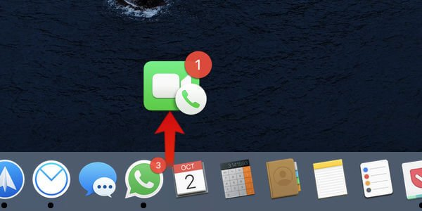 Mac Dock App icon Drag Out