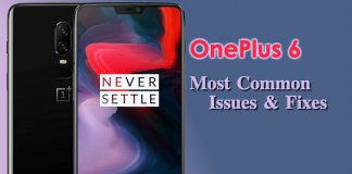 OnePlus6 Issues Fixes