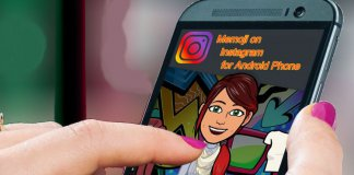 Use Memoji on Instagram Android
