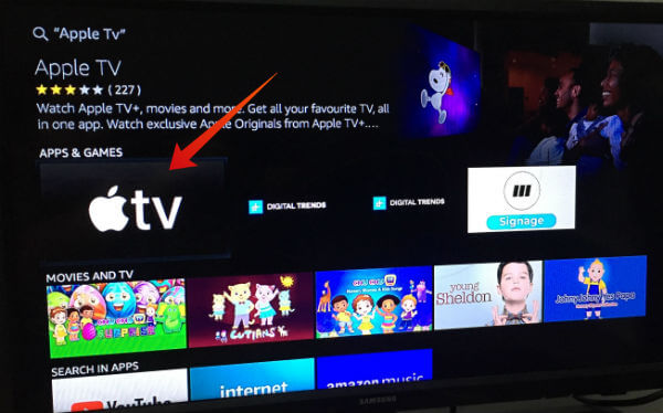 Apple TV for Fire TVFirestick
