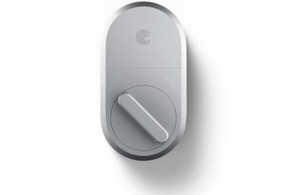 August Home Smart Lock Silver under $100