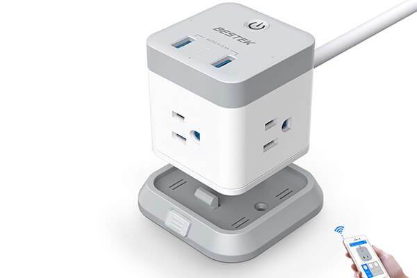 Best tech gifts - BESTEK Smart WiFi Power Strip