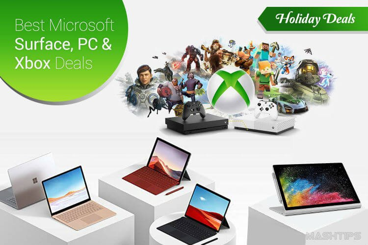 Microsoft Surface, PC and Xbox Deals & Discounts